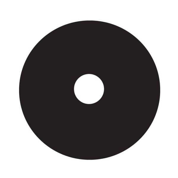 Großblende aus Platin, Ø 30 mm, Dicke 0,6 mm