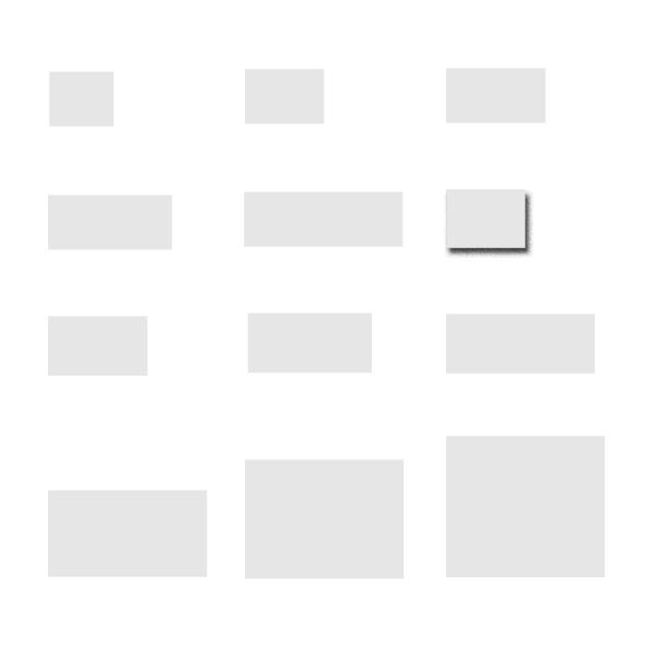 Rechteckige Deckgläschen in unterschiedlichen Größen