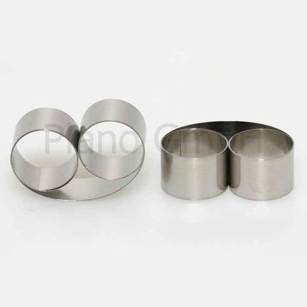 Metallfederklemmen für dünne Proben