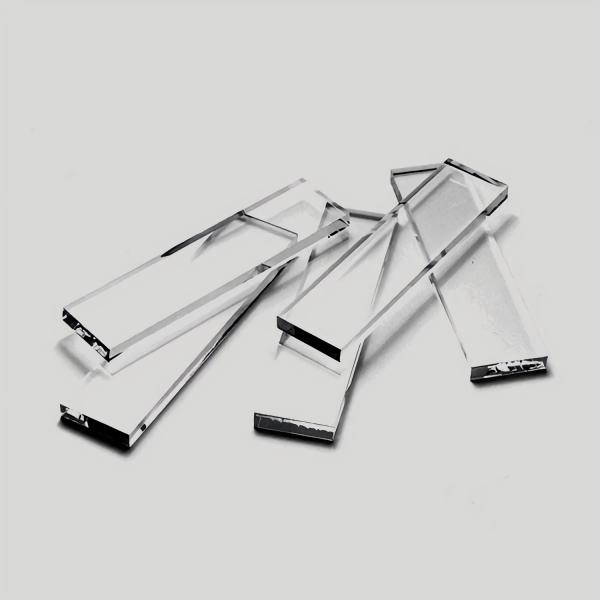 Glasstreifen zur Messerherstellung