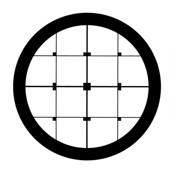 Rundes Orientierungs Netzchen