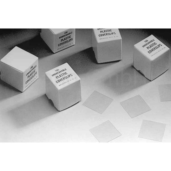 Kunststoff-Deckgläser (PLANO-Multipack)
