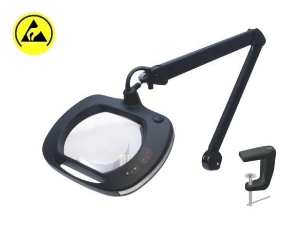 Vergrößerungs-LED-Lampe (x2.25) mit Gelenkarm, 1 Stück