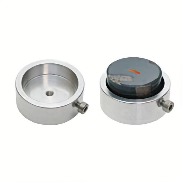 Probenhalter für metallurgische Schliffe (mit M4-Gewinde Aufnahme)