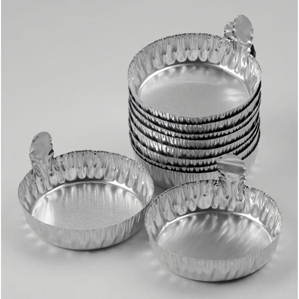 Aluminium-Schälchen mit Lasche