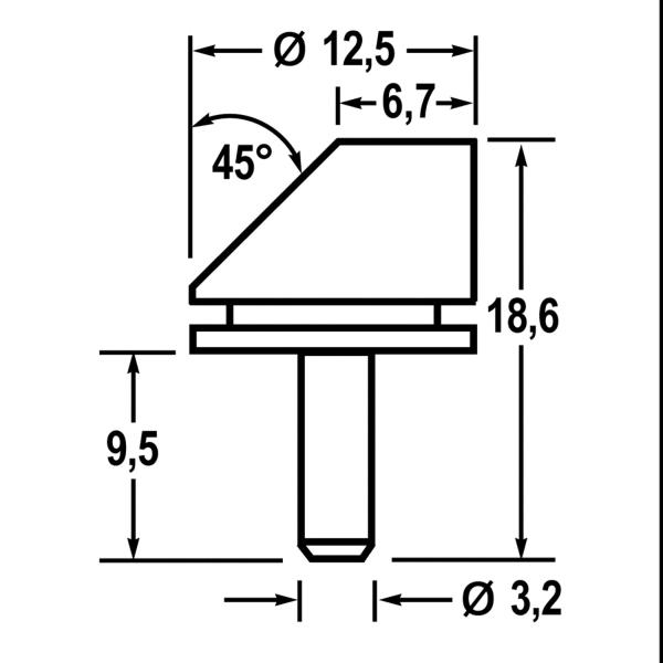 Stiftprobenteller mit Profil