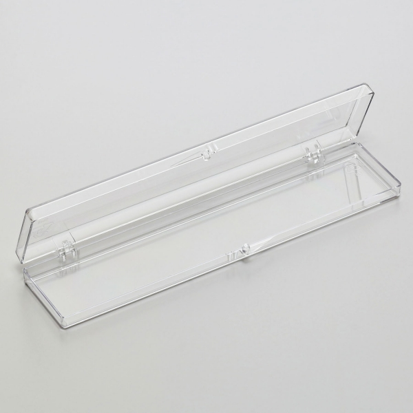 Polystyrol-Schachtel (transparent)