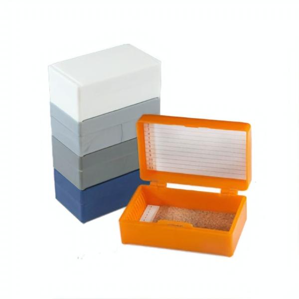 Aufbewahrungsbox (Micro Slide Box) für Objektträger aus Polystyrene