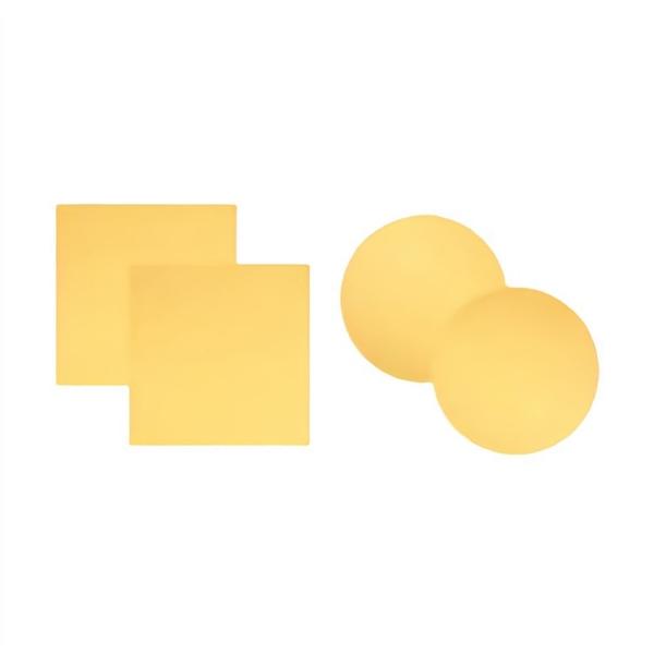Goldbeschichtetes Deckgläschen