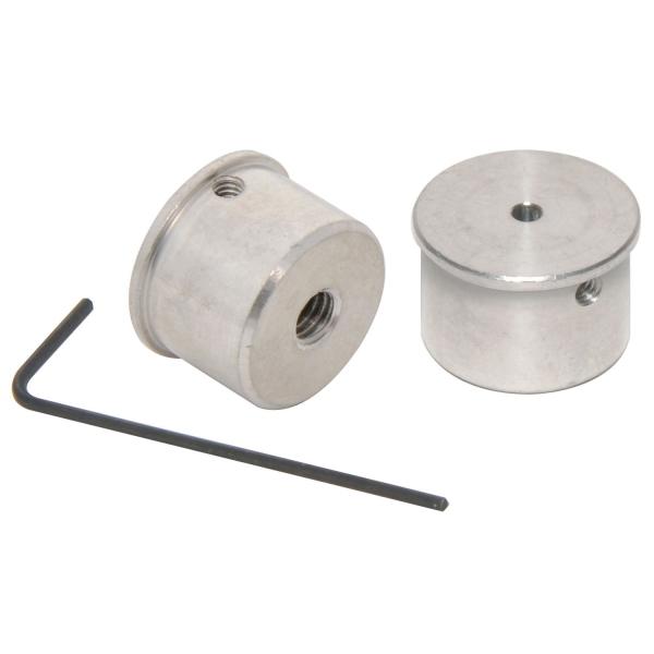 Rohr-, Nadel-, Draht-Zylinderhalter für Hitachi bis Ø 2 mm mit M4-Gewinde
