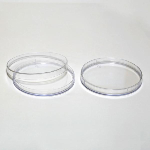 Runde Polystyrol-Dosen, klar
