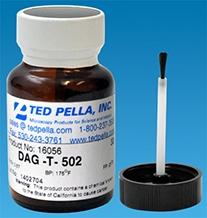 Leit - Kohlenstoff DAG-T-502, Flasche mit Pinsel, 30 g