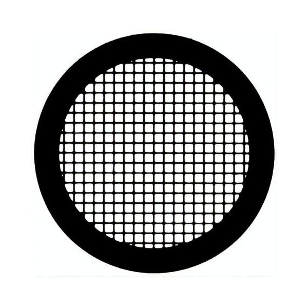 Gold Netzchen mit quadratischem Muster, 200 mesh