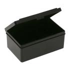 Schachtel, ESD/schwarz, 130mm x 80mm x 50mm, 1 Stück