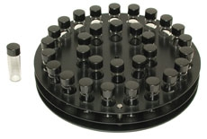 Klare Wheaton®-Probenfläschchen mit gummierter Schraubkappe für Rotator Kopf 1054