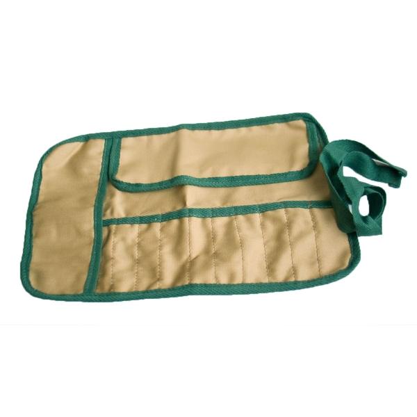 Tasche aus Segeltuch für Pinzetten, Skalpelle, etc.