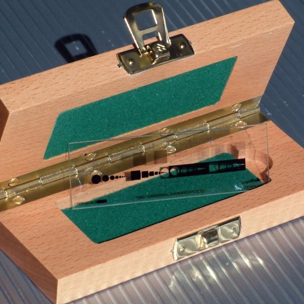 Universal Kalibrier-Objektträger