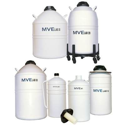 Dewar Vorratstank MVE Lab4 mit seitlichen Henkel, 4 Liter
