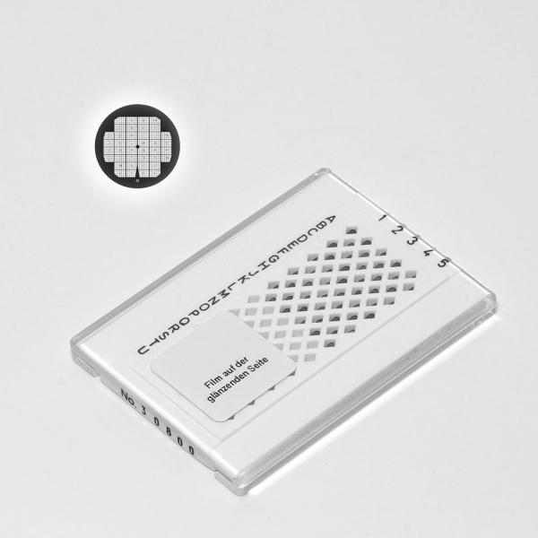 Formvar/Kohle-Film auf Findernetzchen