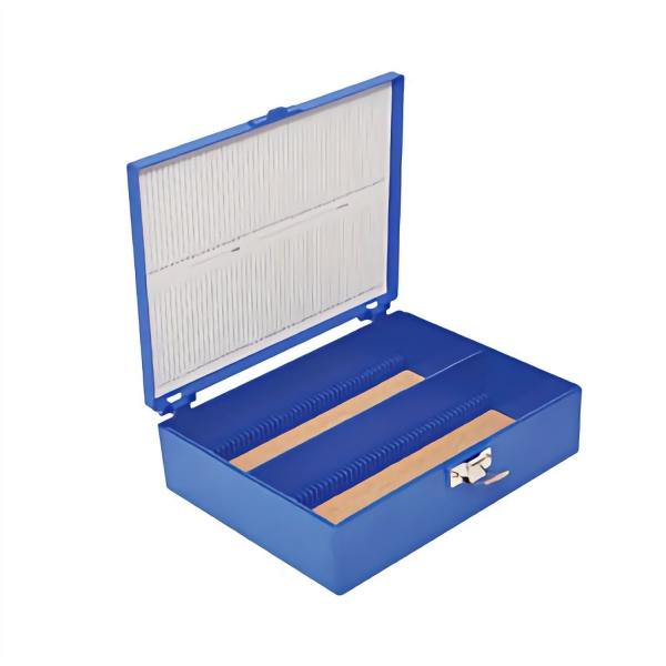 Aufbewahrungsbox (Tall Slide Box) für Objektträger aus robustem ABS