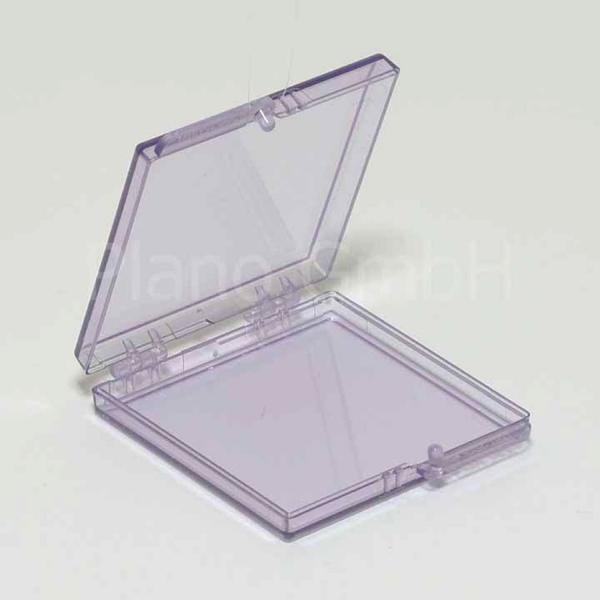 GelPak - Schachtel (nicht befüllt) mit Scharnierdeckel