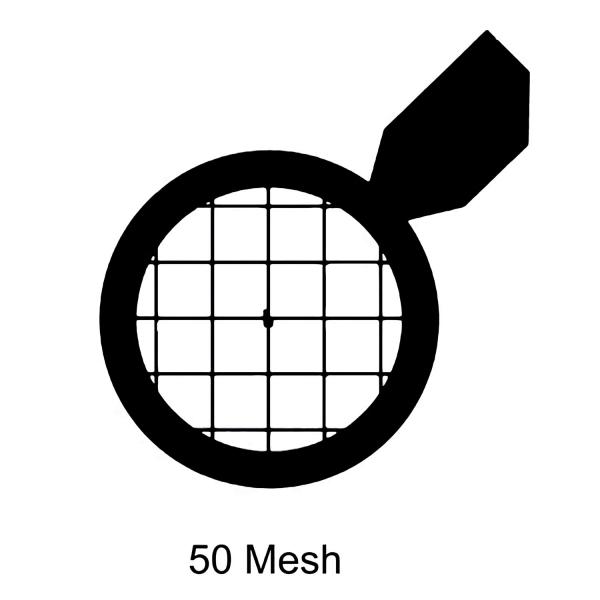 Quadratische Netzchen mit Griff