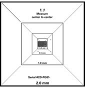 CDMS - Pelcotec™ Critical Dimension Vergrößerungsstandard