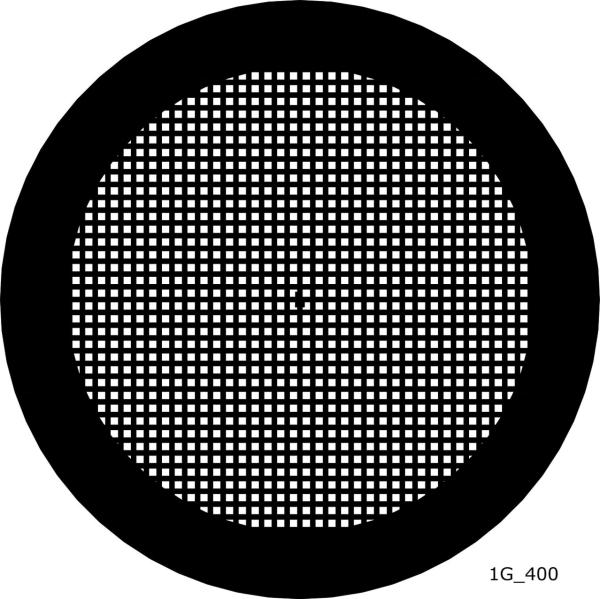 TEM Grids, Netzchen mit quadratischen Muster