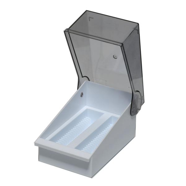 Aufbewahrungsbox (DrainRack™) für bis zu 100 Objektträger