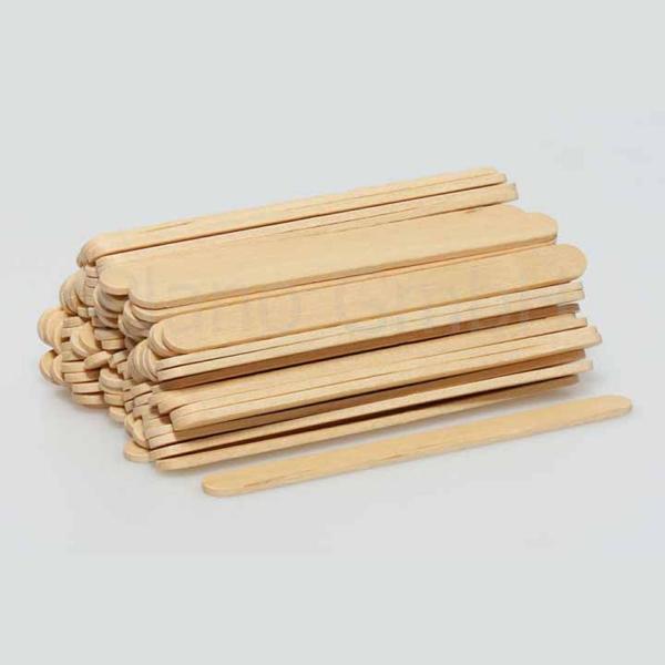 Einweg-Holzrührstäbchen