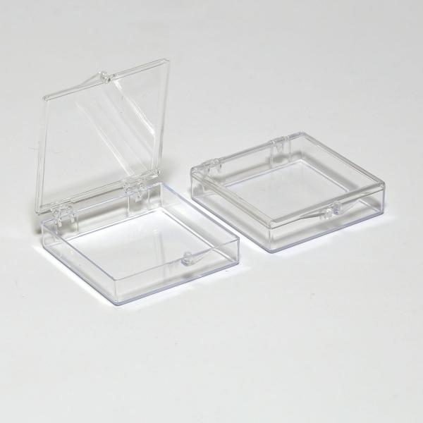 Styren-Schachtel mit Scharnierdeckel