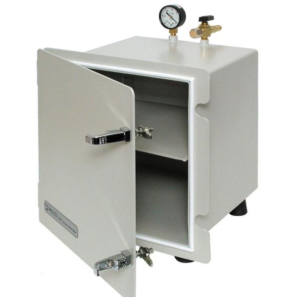 Vakuum Exsikkator-Schrank mit unterschiedlichen Schlauchanschlüssen