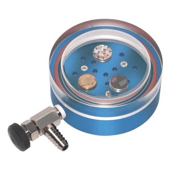 Vakuum-Exsikkator für Stiftprobenteller