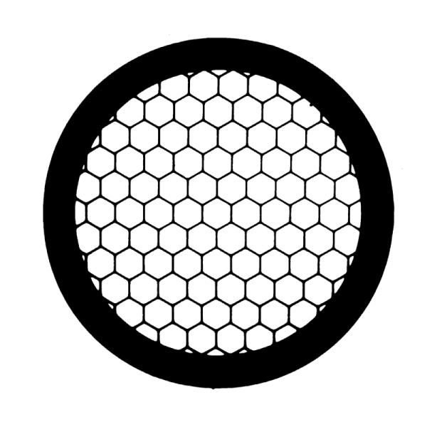 Athene TEM Netzchen mit hexagonalen Muster