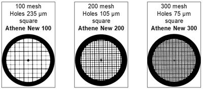 ATHENE - Dicksteg- / Dünnsteg Netzchen (Typ New)