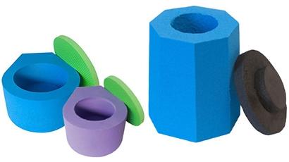 Kryo Aufbewahrungsbehälter aus Schaumstoff