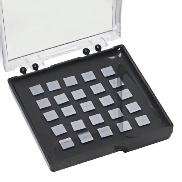 """Ultra-Flat 6"""" - Wafer mit SiO2-Film in Gel-Pak Schachteln (geschnitten)"""
