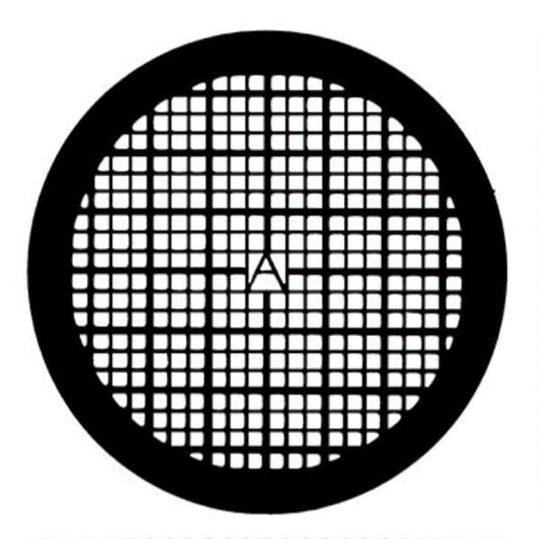 Netzchen (quadratisches Muster) mit Mittelmarkierung aus Kupfer (PLANO-Multipack)