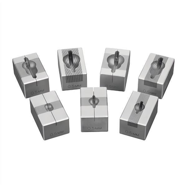 Hirn-Handschnittmatrizen aus Edelstahl, 0,5 mm