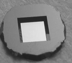 Siliziumnitrid Membran - TEM Windows, Low-Stress Siliziumnitrid, nicht porös