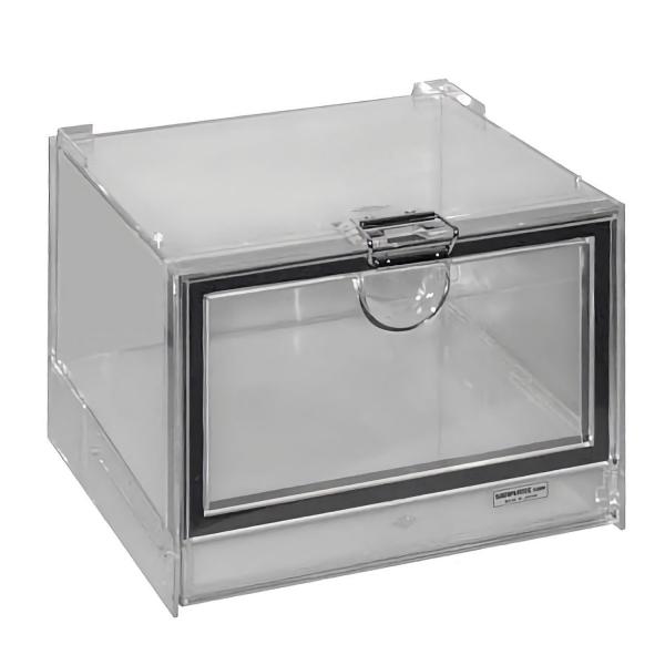 Exsikkator-Behälter (transparent, stapelbar)