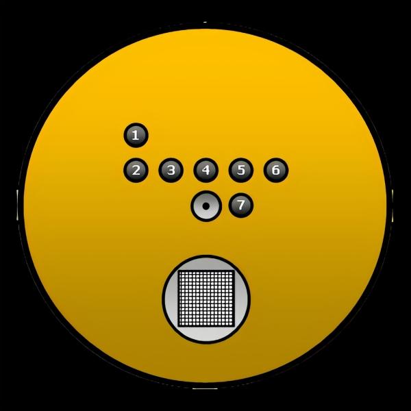 Kalibrierstandard-Universal für REM / EDX mit 7 definierten Standards + Si-Testobjekt + Faraday Cup