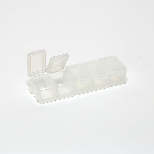 Aufbewahrungsschachteln mit Deckel (modular steckbar)