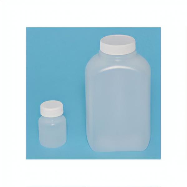 Weiße Aufbewahrungsflaschen aus Polyethylene