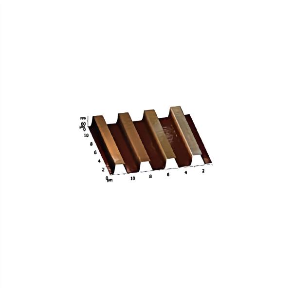 Kalibrier-Raster, montiert auf 12 mm AFM-Scheibe