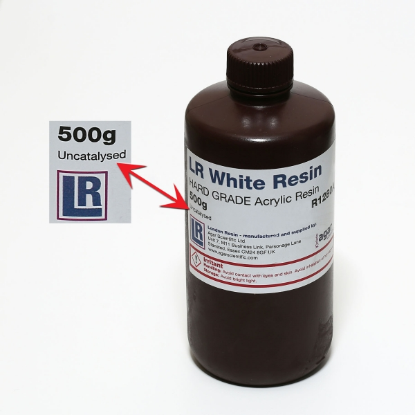LR White hydrophiles Acryl Harz
