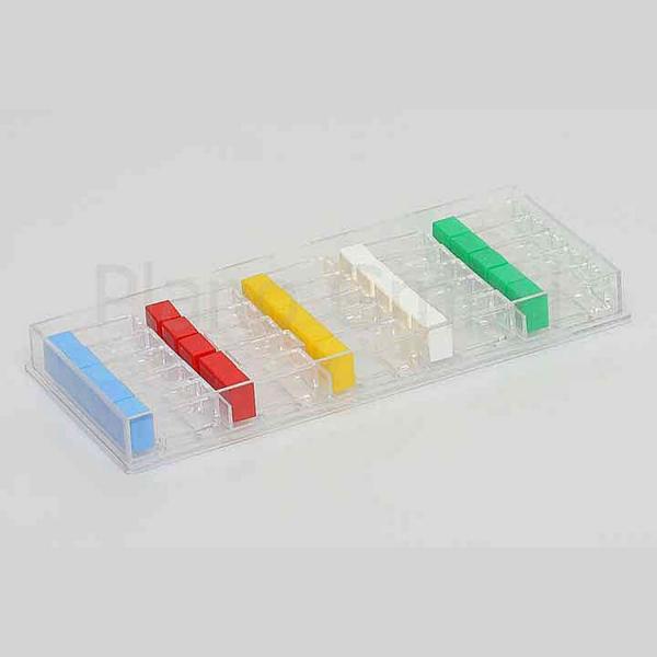 Lager-Schachteln mit 25 Kleinbehältern