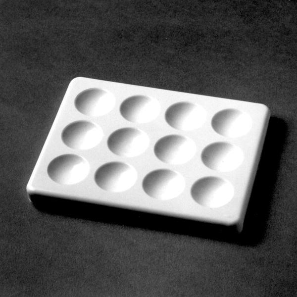Färbeplatte aus Kunststoff