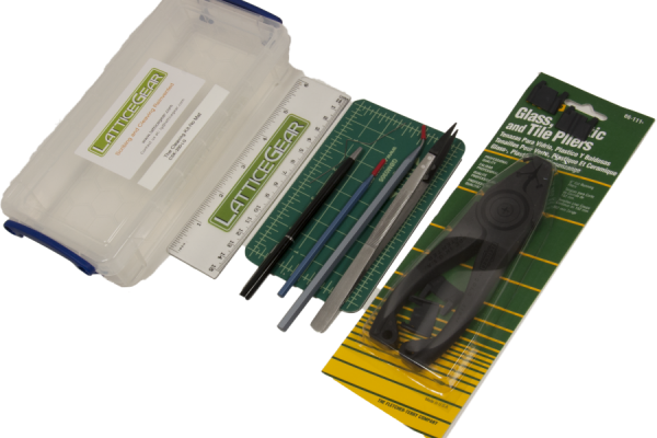 Cleaving Kit ohne Matte - Werkzeugset zum sauberen Ritzen und Spalten