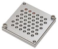 Clamping TEM - Halter-Block für 45 TEM Netzchen